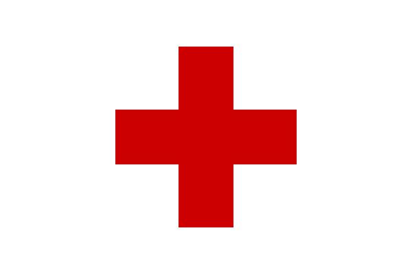 Красный крест.