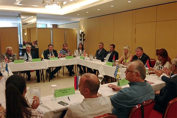 Белорусская делегация в Афинах