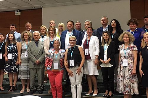 Делегация Белорусской ассоциации врачей
